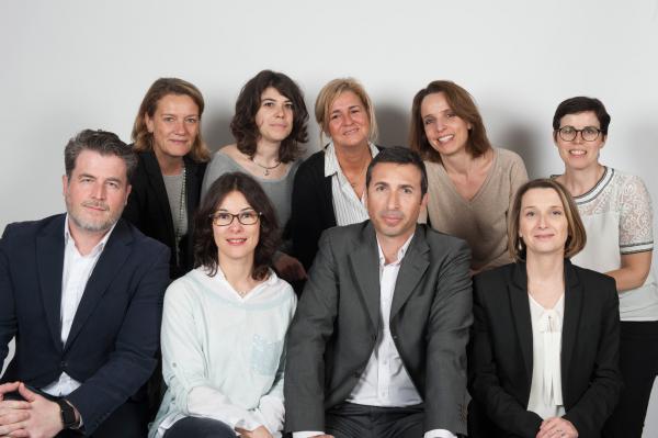 L'équipe du Bureau des Congrès et des Salons