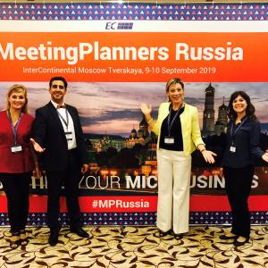 L'équipe des Lyonnais sur le MP Russia 2019