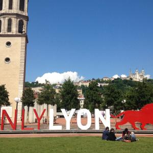 Sculpture ONLYLYON, Place Antonin Poncet © Catherine Romeyer