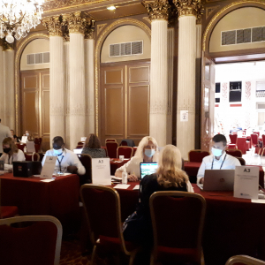 Le Bureau des Congrès de Lyon au Salon Pure Meetings & Events 2021 © ONLYLYON Tourisme et Congrès