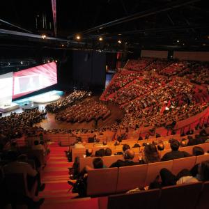 L'Amphithéâtre du Centre de Congrès de Lyon © Nicolas Rodet