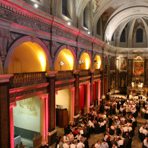Gala Dinner at Chapelle de la Trinité