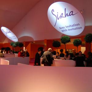Salon Sirha à Eurexpo - Accueil