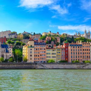 Quais de Saône - Fourvière © Martin M303/ Shutterstock